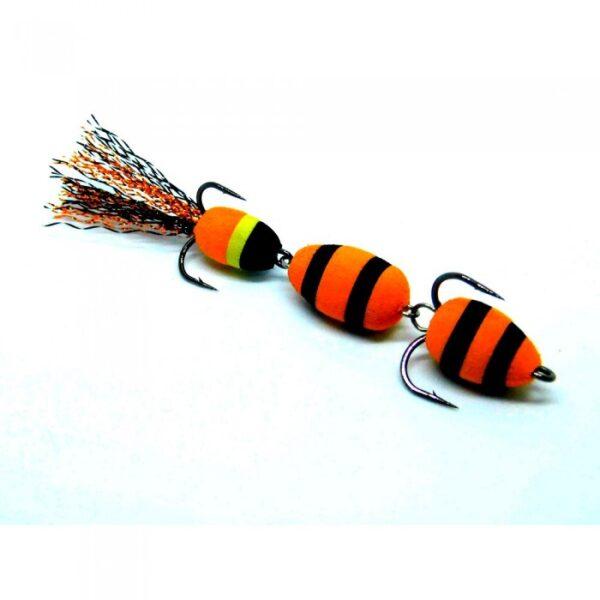 Mandula model 324 3 segmenti 3 culori portocaliu/negru/galben