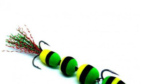 Mandula 4 segmenti pescuit iarna la stiuca si salau