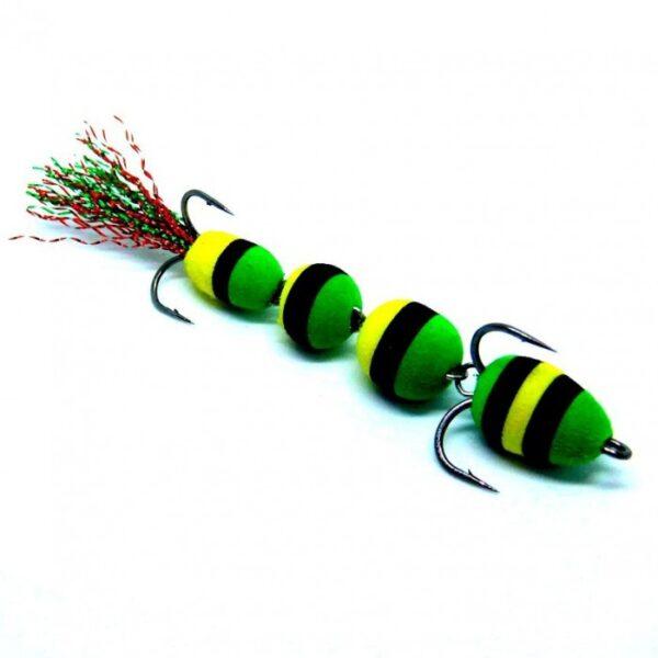 Mandula model 902 4 segmenti 3 culori verde negru galben